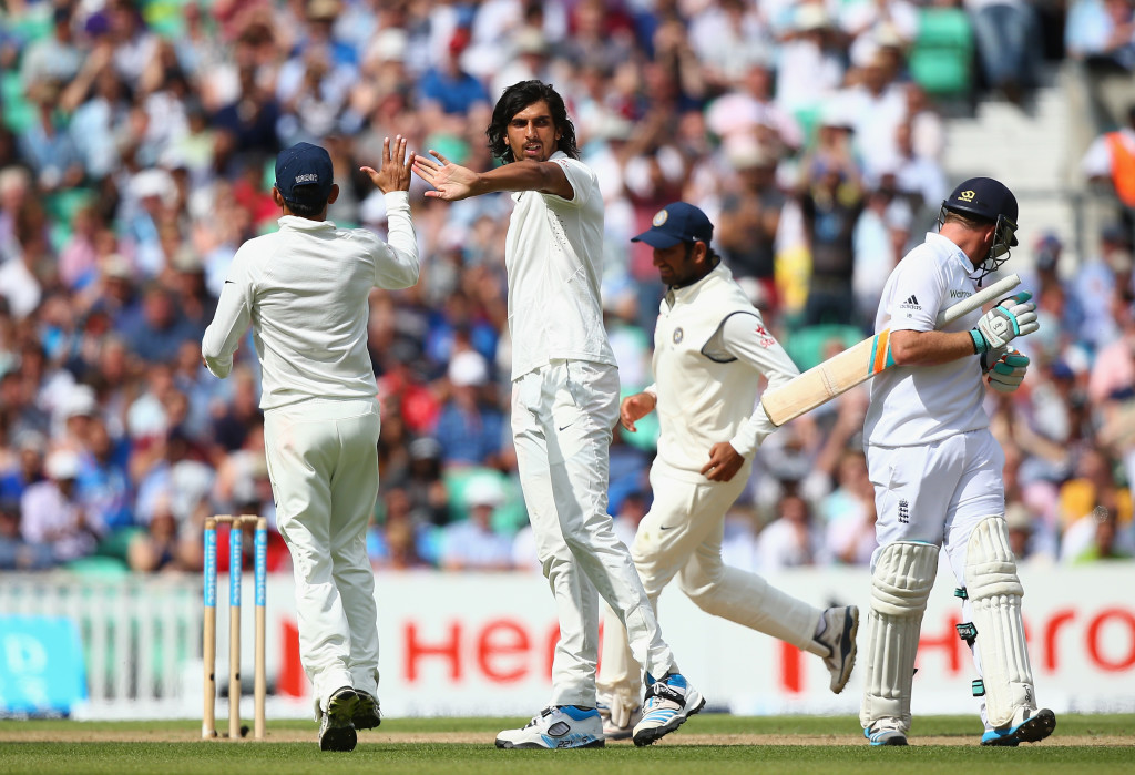 Ishant's 7-74 bounced England out at Lord's in 2014.