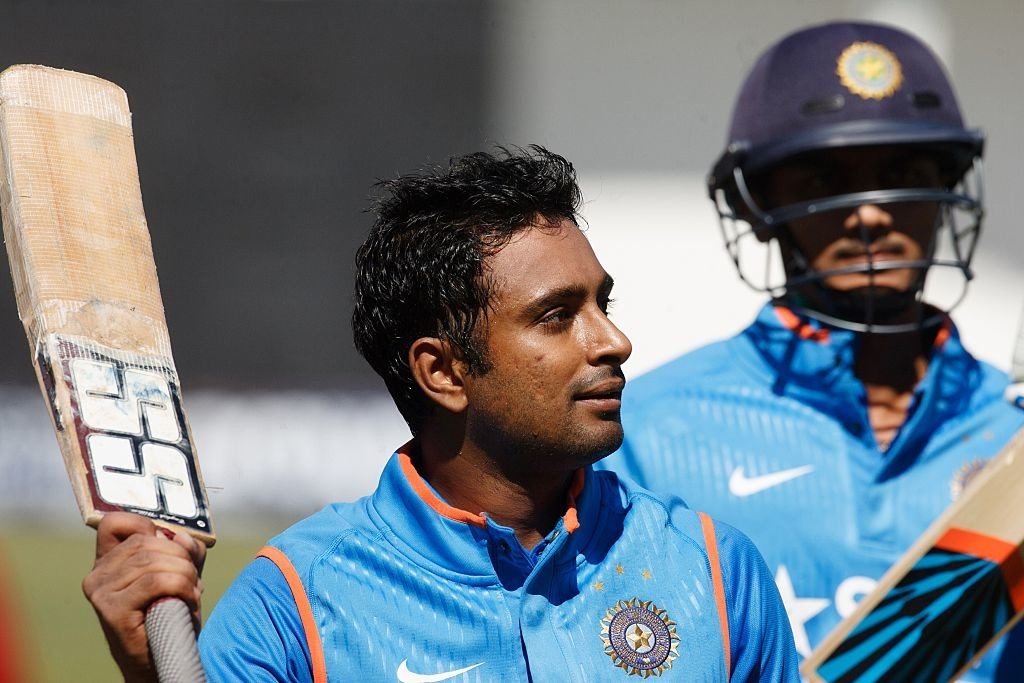 Rayudu had returned to the team following an inspired IPL.