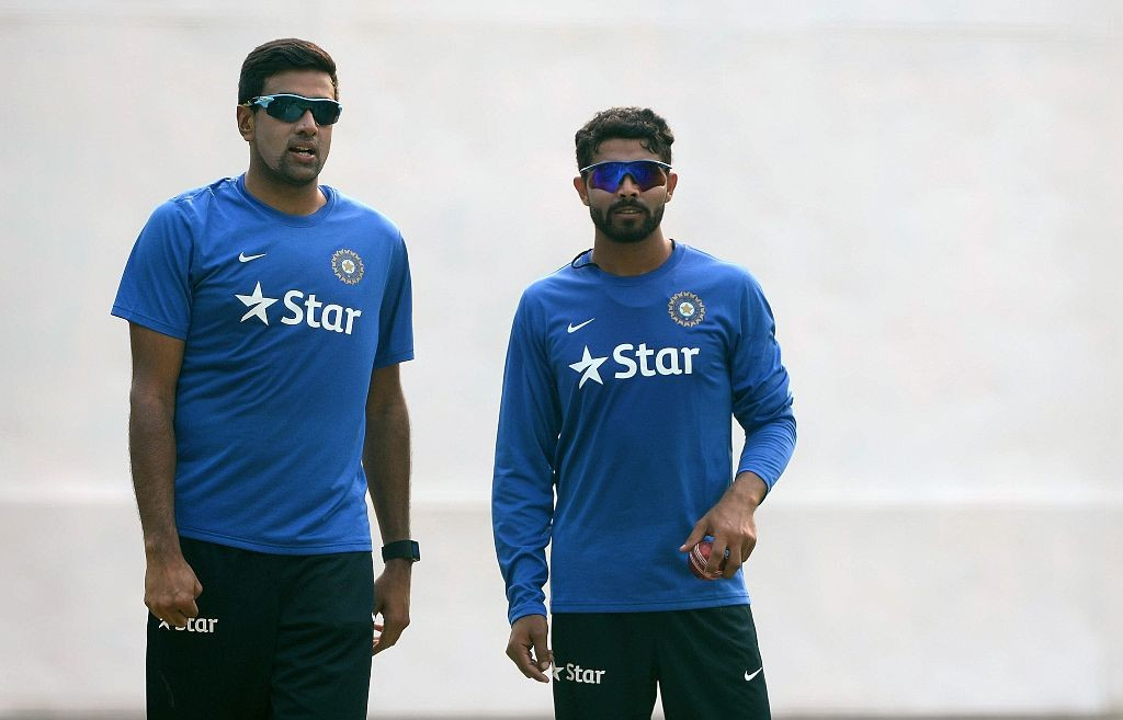 Ashwin and Jadeja will lead India's spin hopes in England.