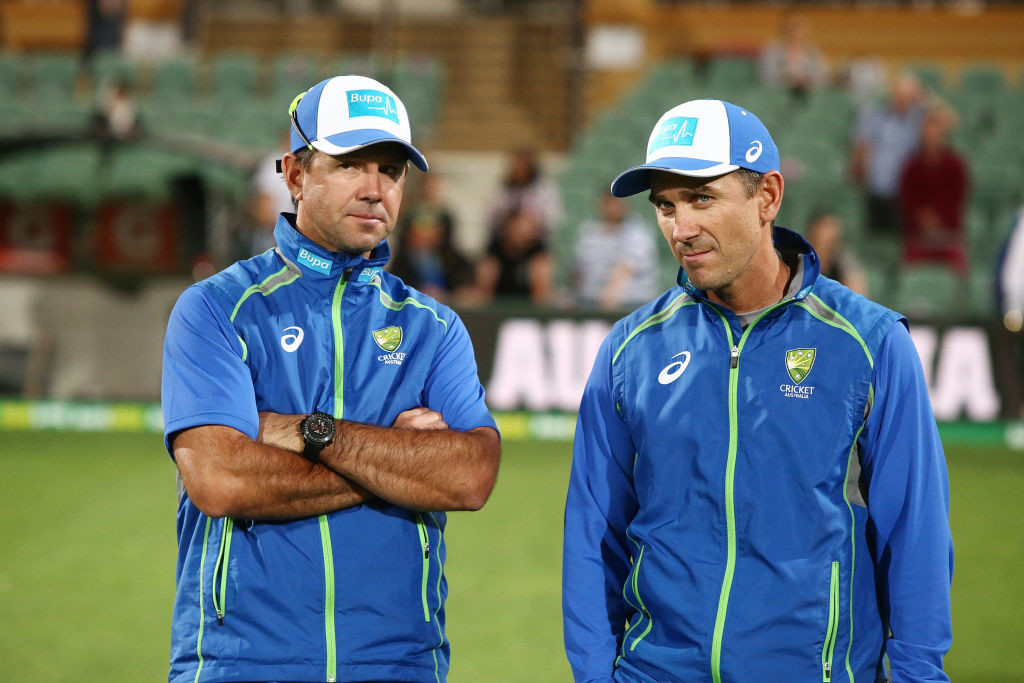 Ponting and Langer have coached together previously for Australia.