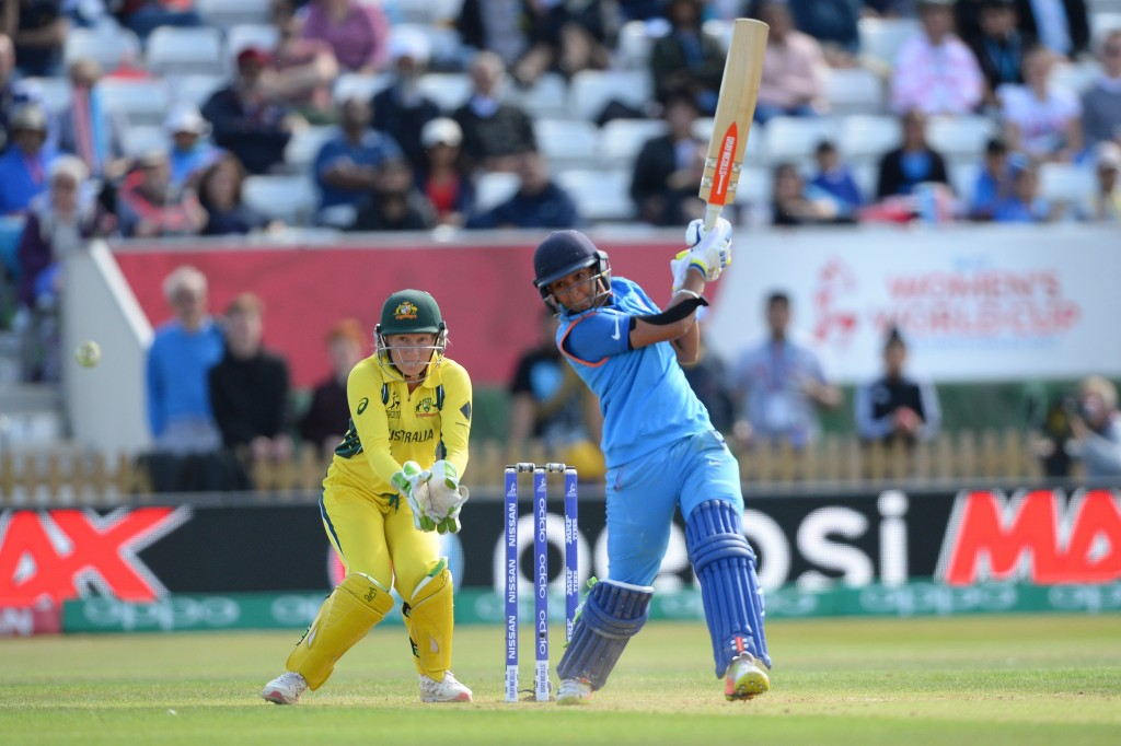 Harmanpreet scored 171 in the World Cup semi-finals last year.
