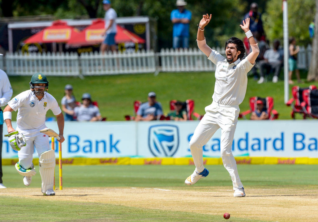 Ishant has shown the ability to tie down one end while bowling.