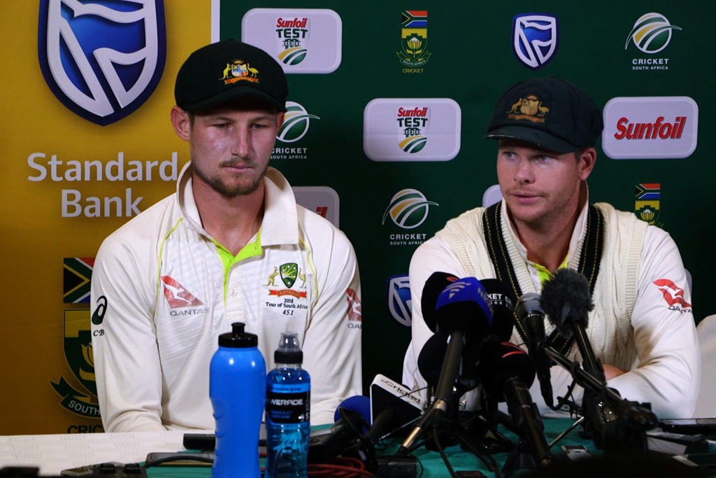 Bancroft and Smith were both handed bans by Cricket Australia.