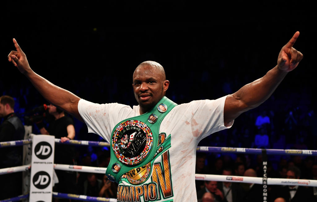 Whyte gave Anthony Joshua something to think about in 2015.