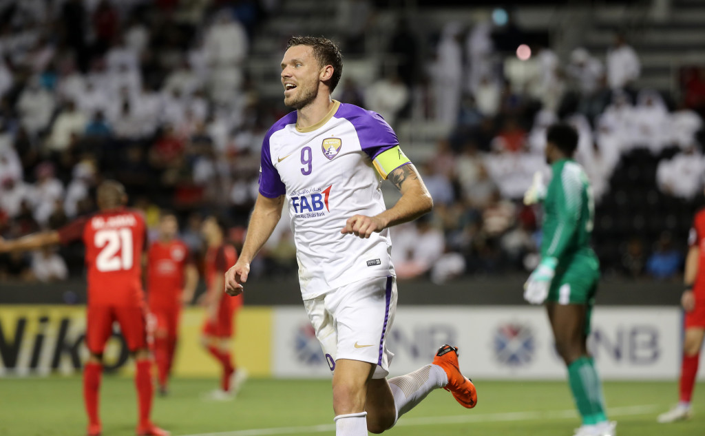 Marcus Berg comes into the World Cup after a prolific debut campaign at Al Ain.