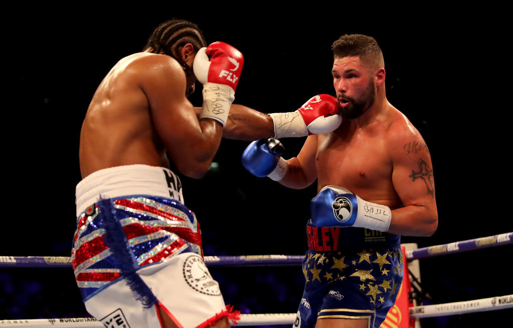 A fight with Bellew (R) could capture the public's imagination.