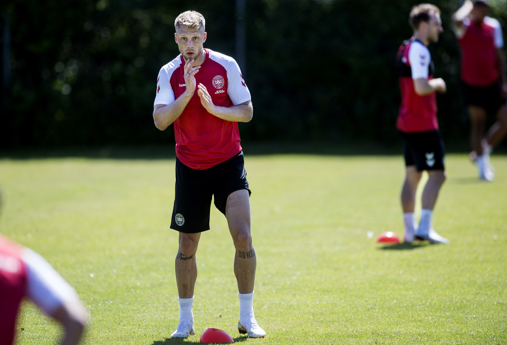 Denmark's Nicolai Jorgensen scored 11 times in 30 matches for Feyenoord during 2017/18.