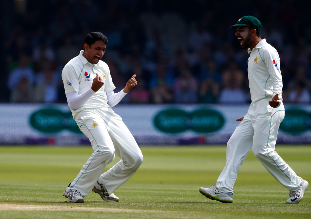 Abbas excelled in England after a recent county stint.