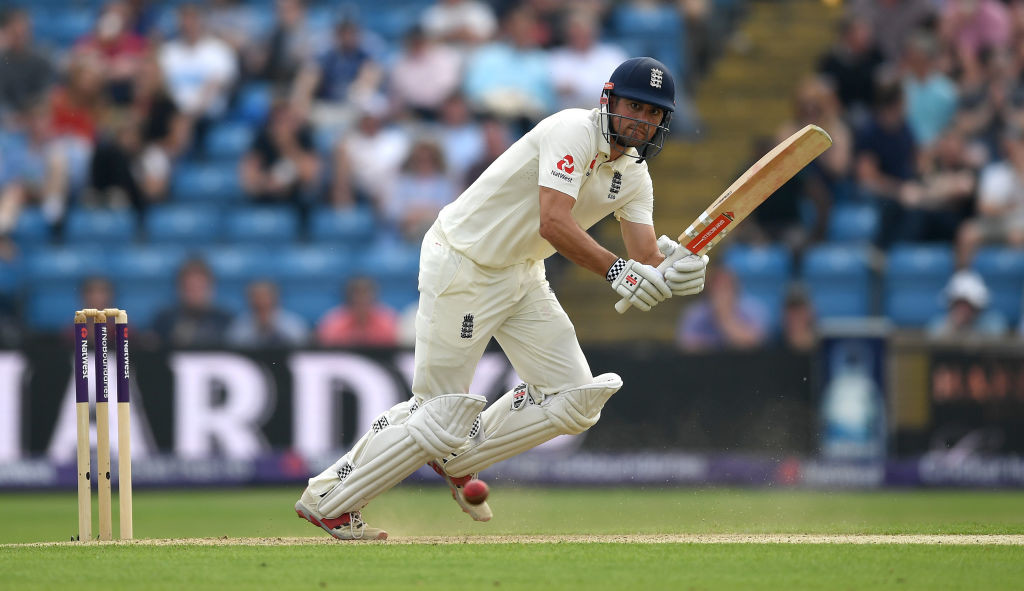 Cook laid a strong foundation for England with his 46.