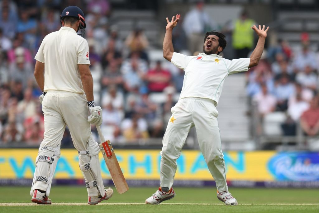 Hasan Ali had a great time in the Lord's Test.