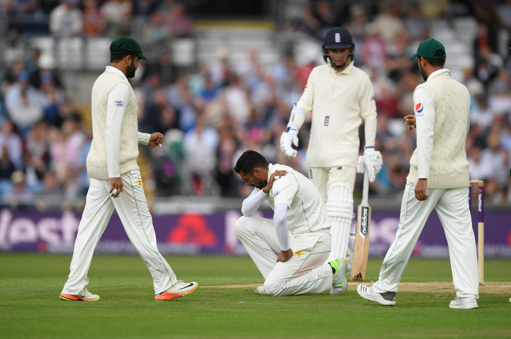 Amir's injury troubles resurfaced in England.