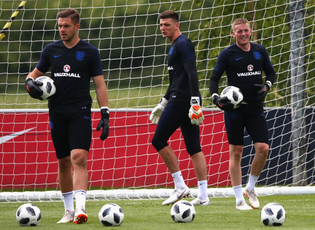 It will be interesting to see if Pickford starts ahead of Butland again.