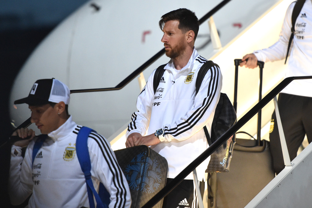 FBL-WC-2018-ARG-ARRIVAL