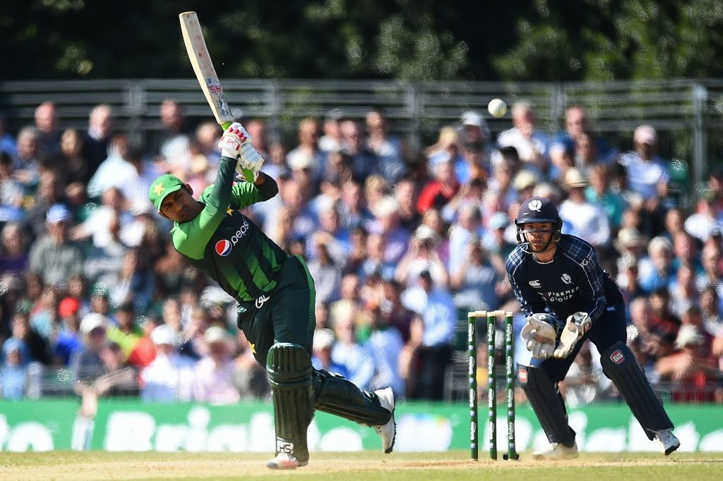 Sarfraz notched up his highest T20I score.