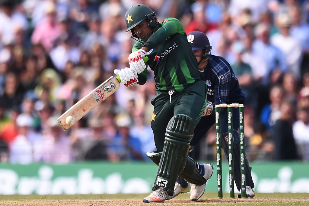 Sarfraz Ahmed starred with the bat for Pakistan.