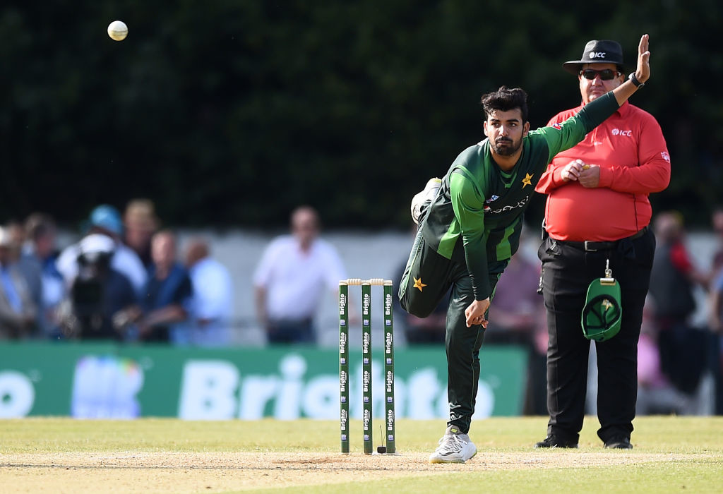 Shadab derailed Scotland's innings completely.