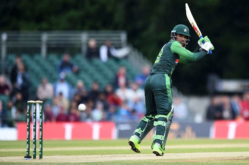 Fakhar Zaman made the most of his reprieve.