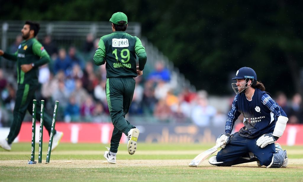 Scotland were unable to prevent a heavy defeat on Wednesday.