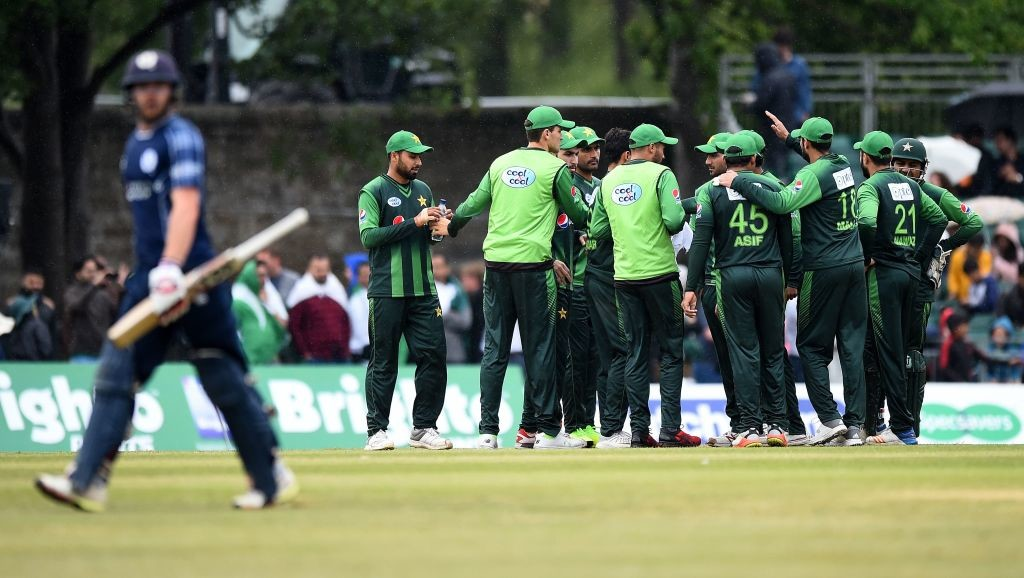 Sarfraz's men proved to be too good for the Scots.