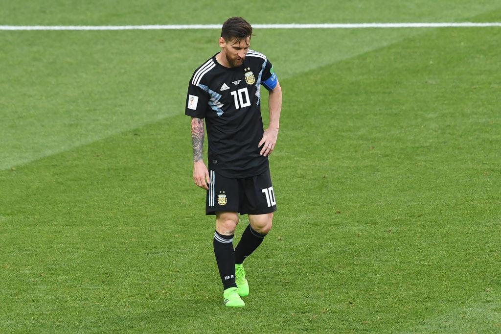 Overburdened: Lionel Messi.