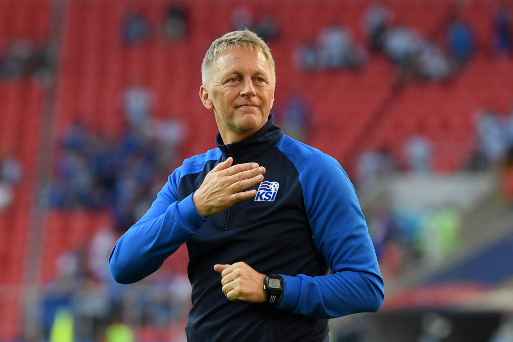 Back to basics: Heimir Hallgrimsson.