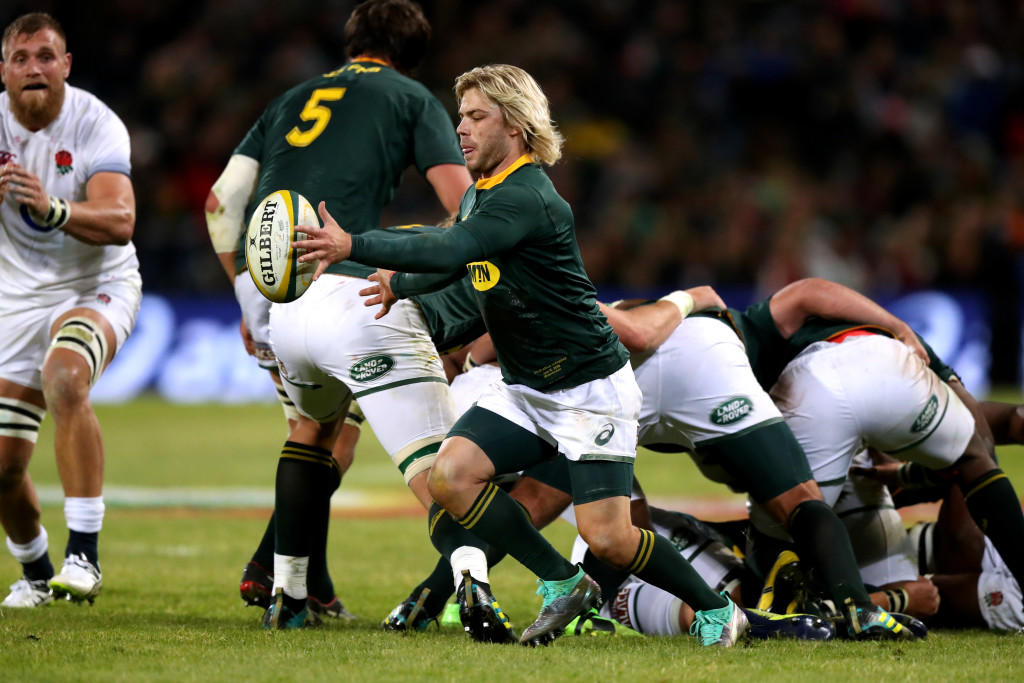Faf de Klerk atoned for some early errors with a measured display