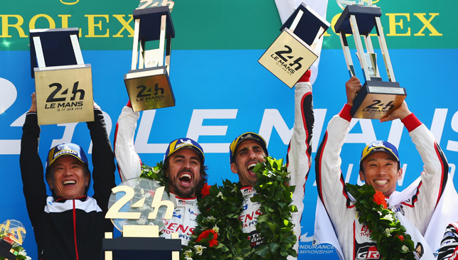 Toyota wins the 2018 Le Mans 24hrs!