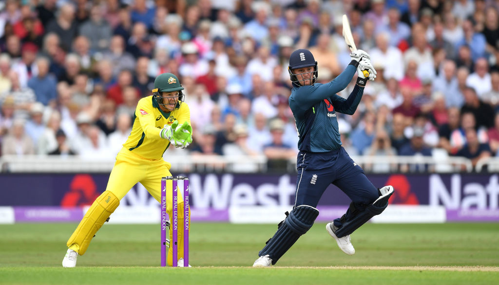 Jason Roy was among three England batsmen to slam a century.