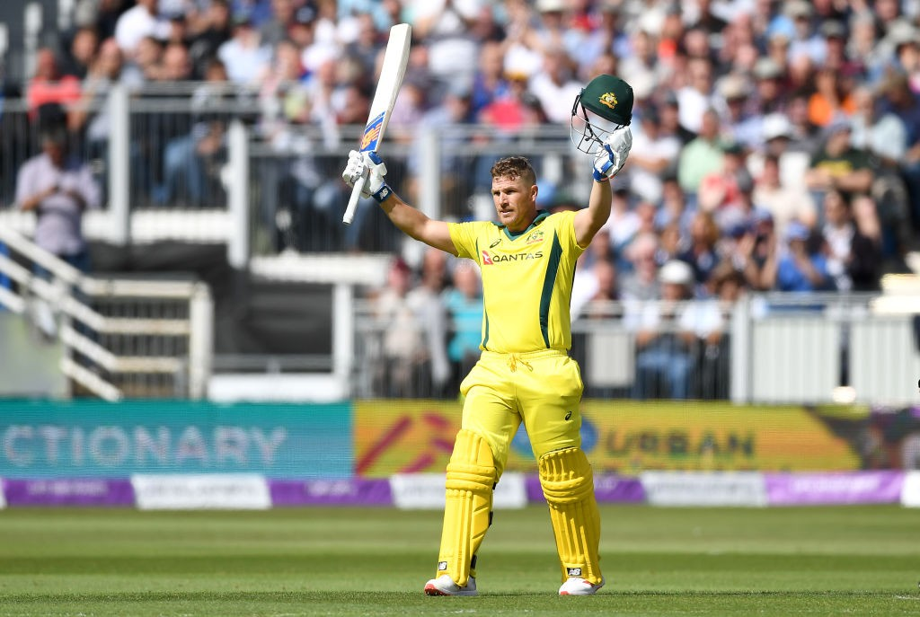 Aaron Finch enjoyed his return to the opening slot.