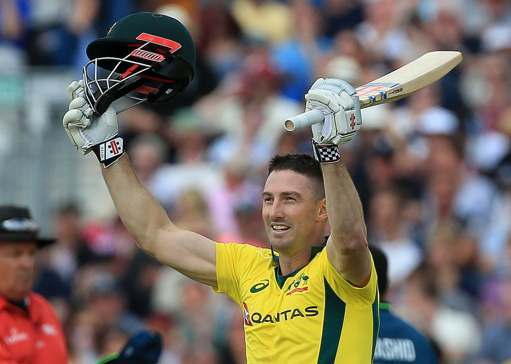 Marsh struck his second century of the ODI series.