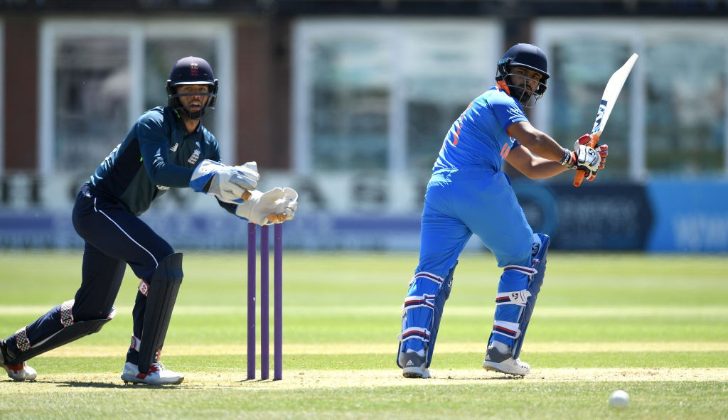 Pant top-scored for India 'A' with a 64-run knock.