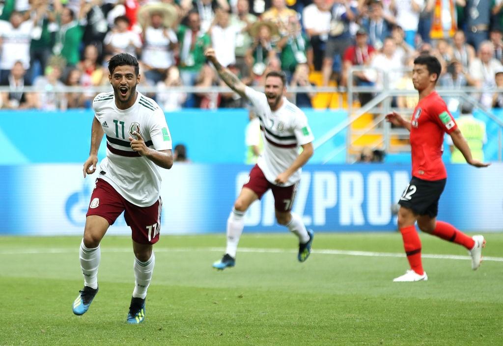 Carlos Vela scored Mexico's opener.