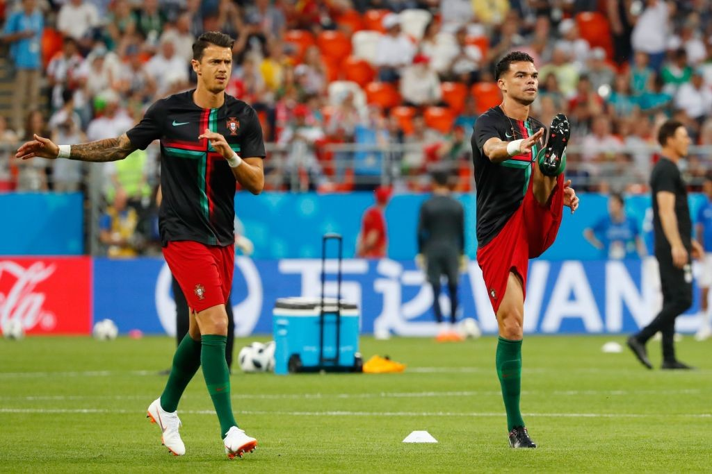 Portugal's defensive stalwarts.