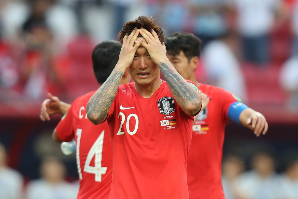 South Korea's finishing has let them down.