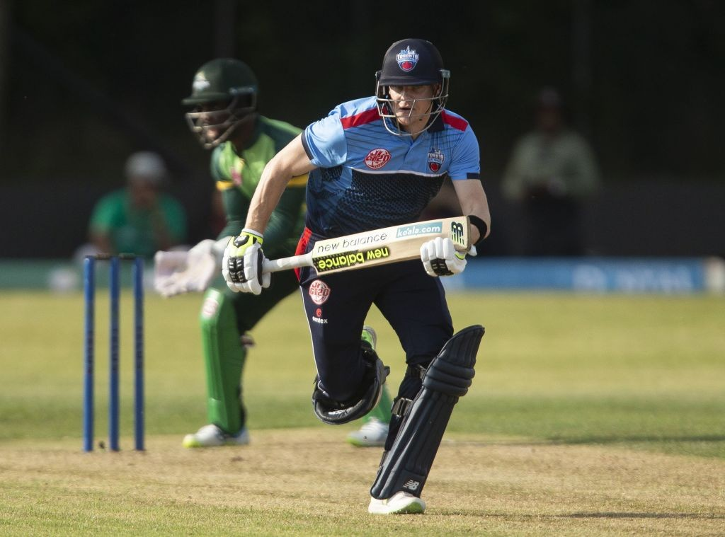Smith smashed a fifty in his very first match in the Global T20 Canada.
