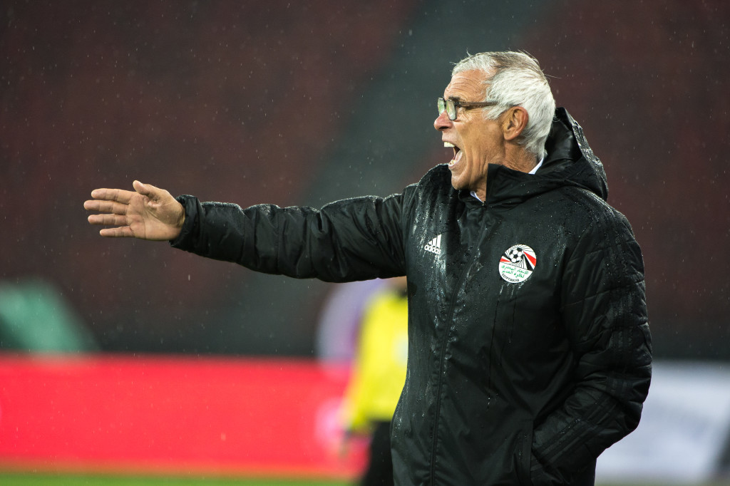 Egypt coach Hector Cuper.
