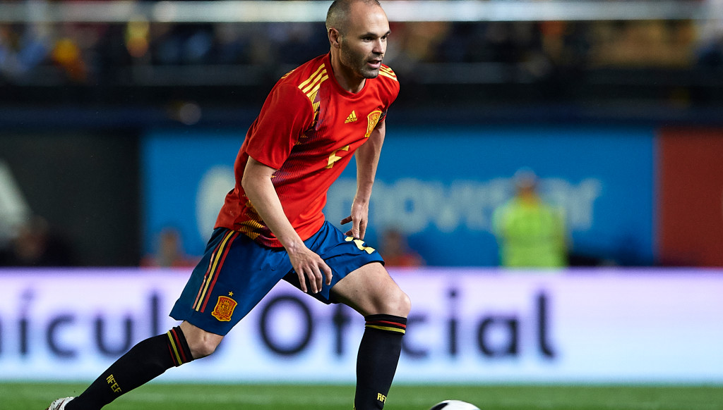 Andres Iniesta will bring the curtain down on his international career in Russia.
