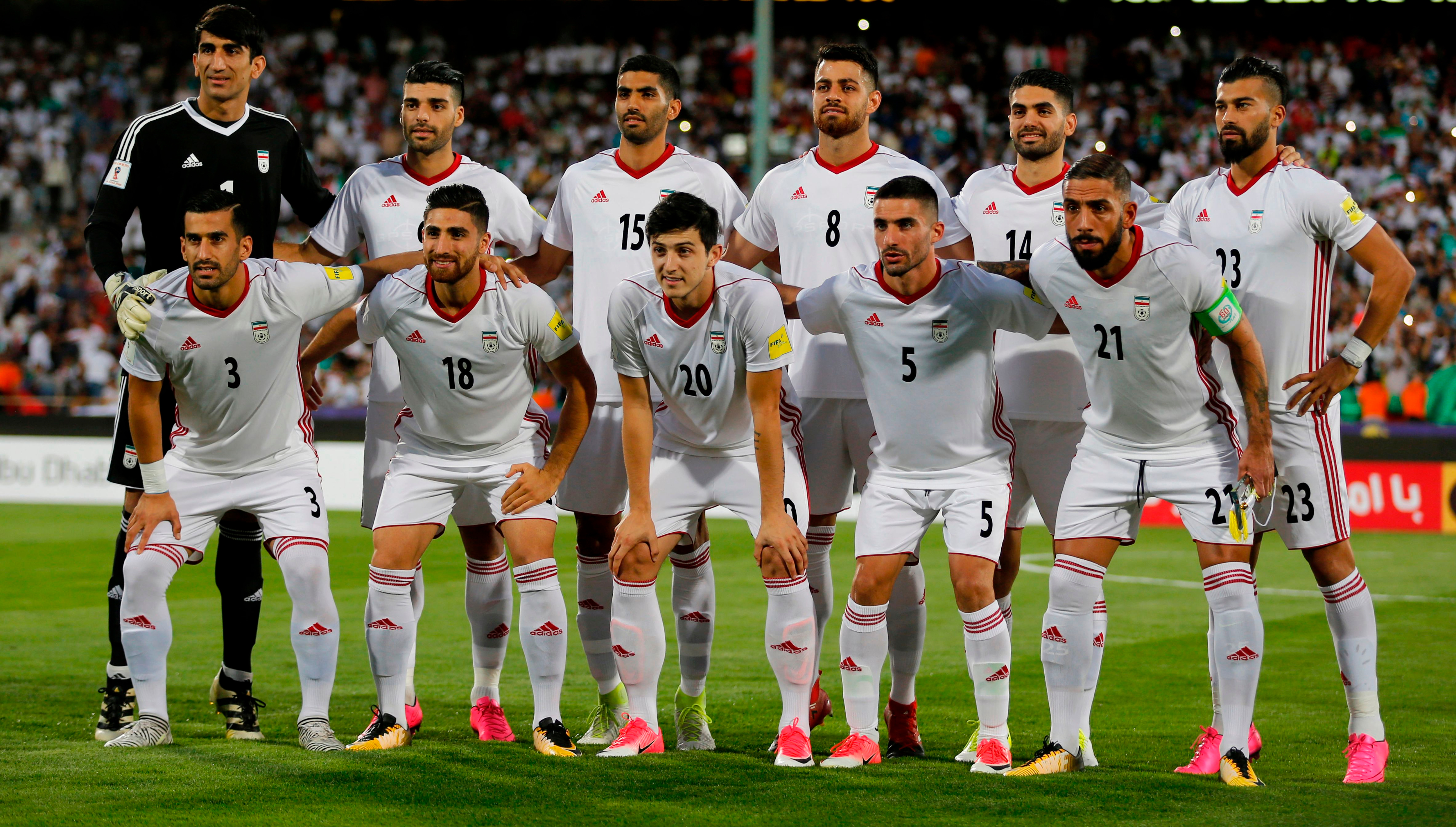 2ee07b0f0 Iran World Cup 2018 squad and team guide as Sardar Azmoun aims to help  Persian princes topple the kings
