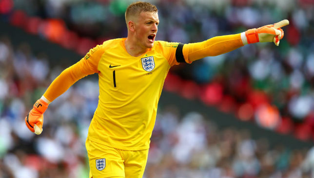 Jordan Pickford is the favourite to earn the No1 spot for England.