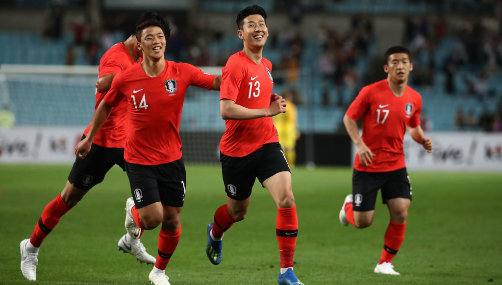 Son Heung-min (c) will lead the Taeguk Warriors into battle.