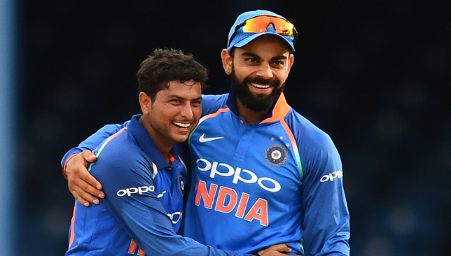 Kuldeep Yadav picked up four wickets.