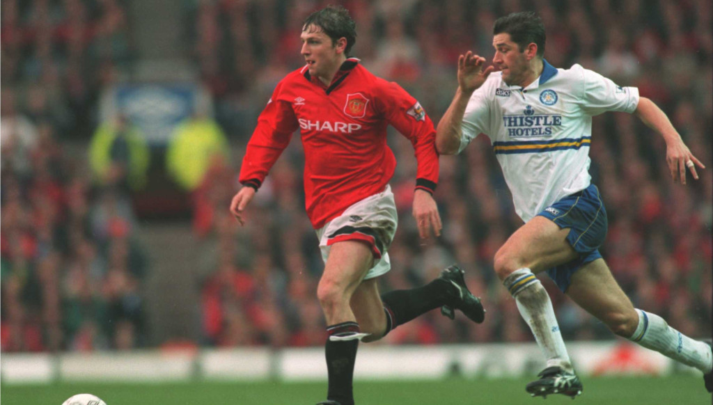 Lee Sharpe won three Premier League titles and two FA Cups with Man United.