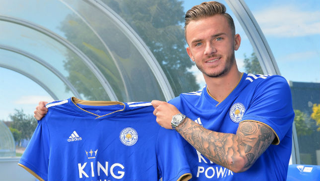 James Maddison has joined the Foxes this summer as the old guard continue to be phased out.