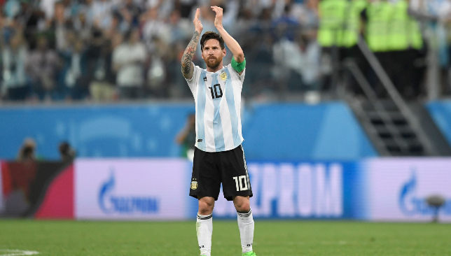 Lionel Messi netted his first goal at the tournament on Tuesday night.