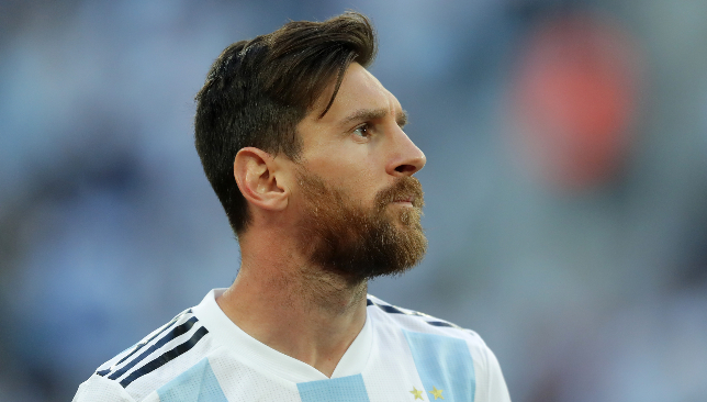 Jorge Sampaoli explains touchline exchange with Lionel Messi over Aguero sub