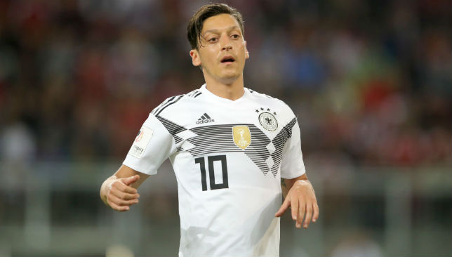 Mesut Oezil of Germany