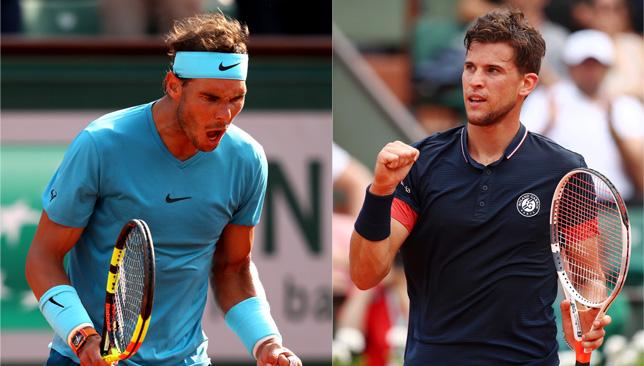 King of Clay vs Prince of Clay: Nadal vs Thiem.