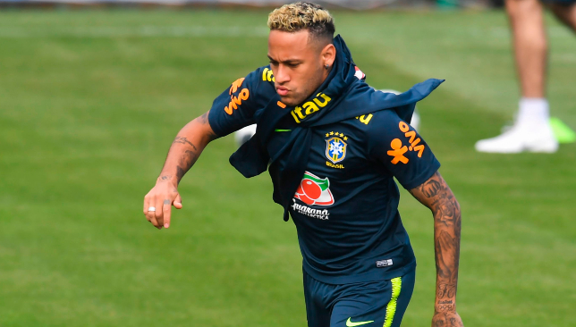 World Cup News Neymar Back On Track For Brazil After Ankle Injury