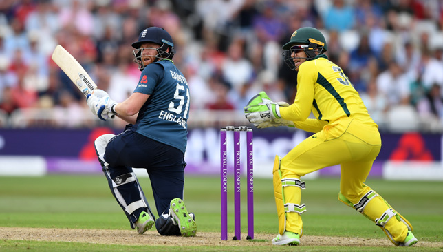 Jonathan Bairstow smashed a ton against Australia at Trent Bridge.
