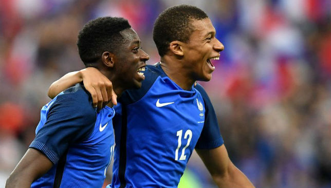 Could Kylian Mbappe be playing alongside Ousmane Dembele for both club and country?